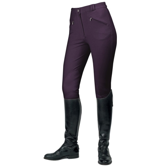 Mark Todd Women's Gisborne Breeches (Plum)