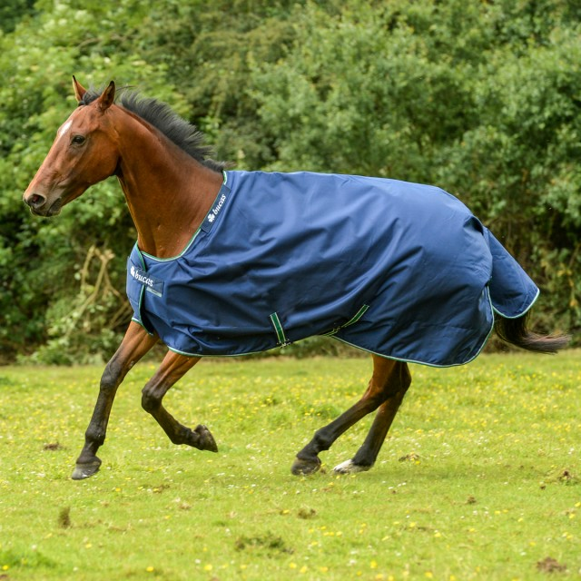 Bucas Smartex Turnout Rain Rug Blue