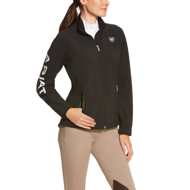 Ariat (Sample) Women's NEW Team Softshell Jacket (Black)
