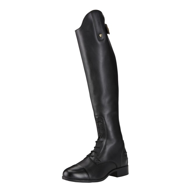 a503e3ccae5475 Ariat Women s Heritage Contour II Tall Field Zip Boots Black - Wychanger  Barton