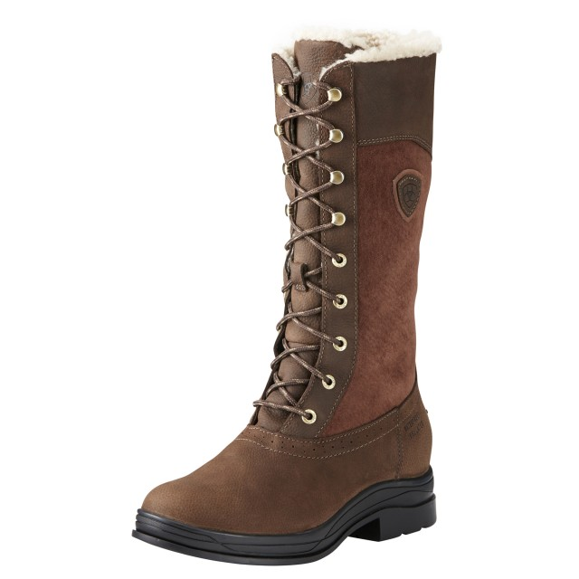 Ariat Women's Wythburn H2O Insulated Boot (Java Brown)
