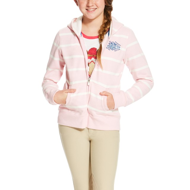 Ariat Girl's Lathrop Full Zip (Blossom)