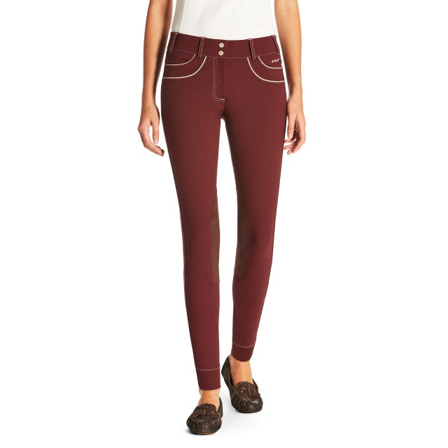 Ariat (Sample) Women's Olympia Acclaim Knee Patch Breeches (Malbec)