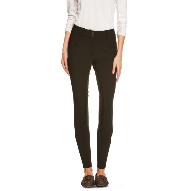 Ariat Women's Mikelli Full Seat Breeches (Black)