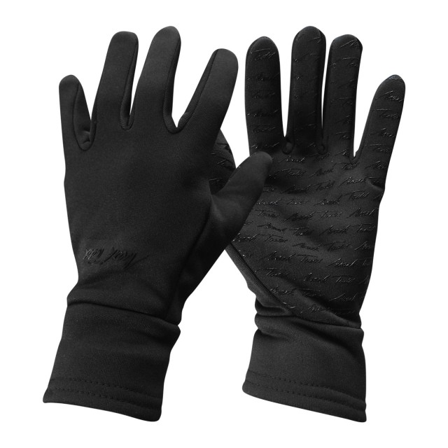 Mark Todd Adults Winter Grip Fleece Gloves Black