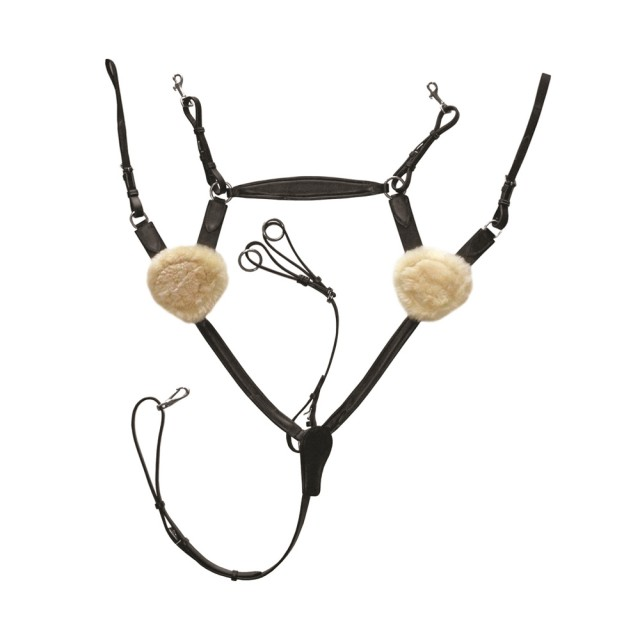Mark Todd Deluxe 5-Point Breastplate (Black)