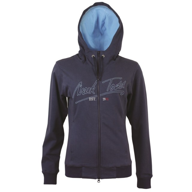 Mark Todd Women's Jana Hoodie (Navy & Sky Blue)