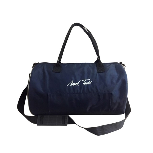 Mark Todd Sports Luggage Ring Bag (Navy/Silver)