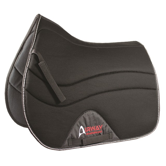 Mark Todd Airway Saddlepad (Black)