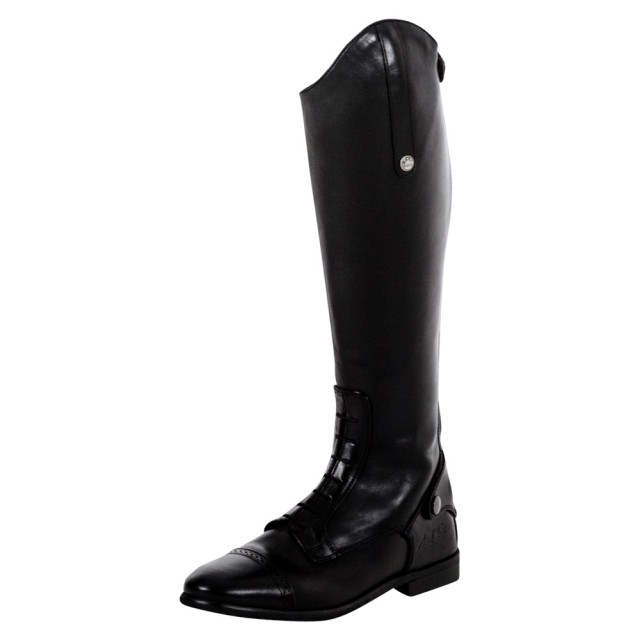 Mark Todd Adults Long Leather Competition Field Boot (Black)