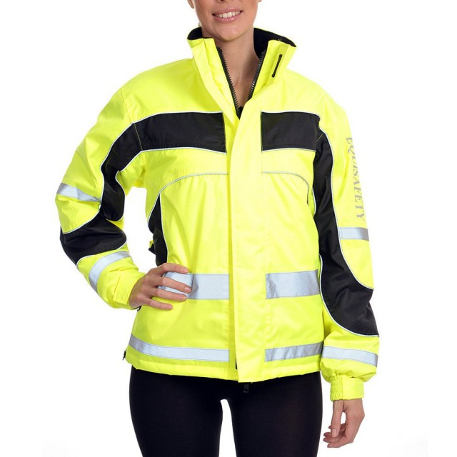 Equisafety Women's Aspey Winter Jacket  (Yellow)