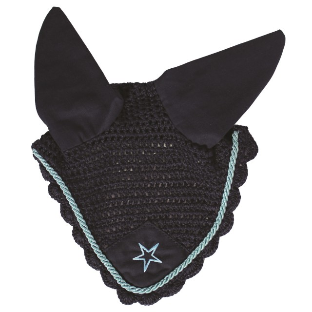 JHL Star Fly Veil (Navy & Teal)