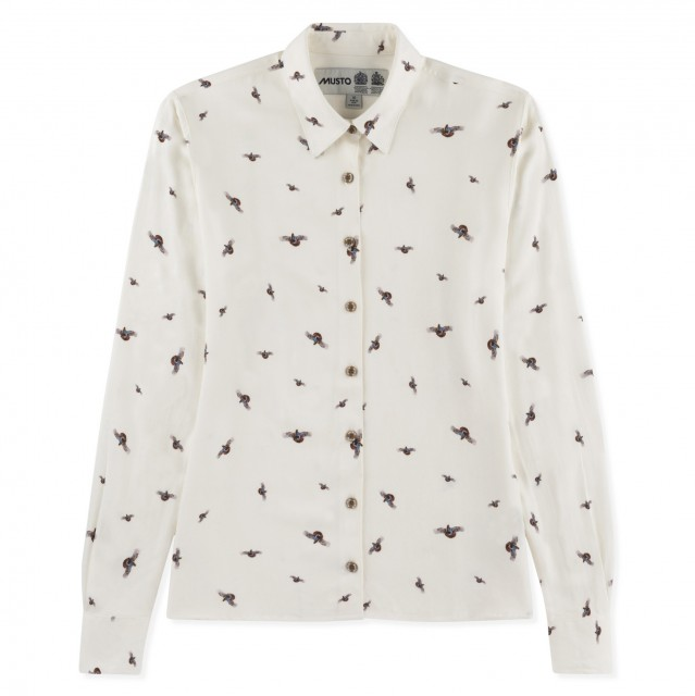 Musto Women's Country Pattern Shirt (Flying Partridge)