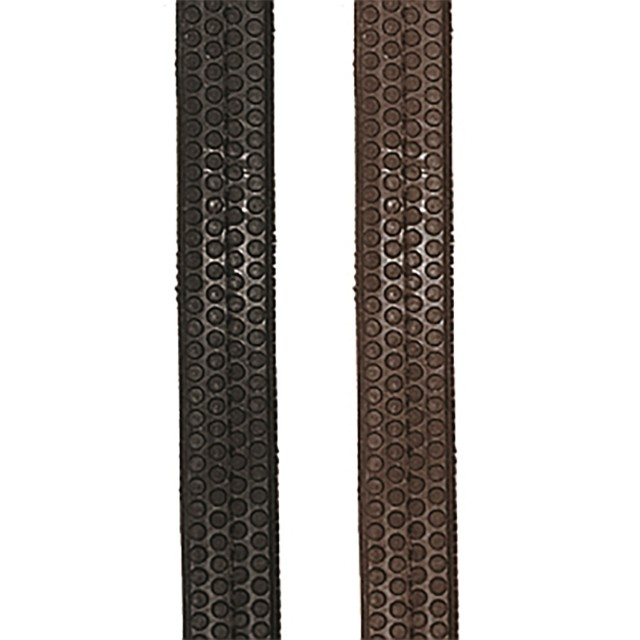 JHL PRO Rubber Grip Reins (Brown)