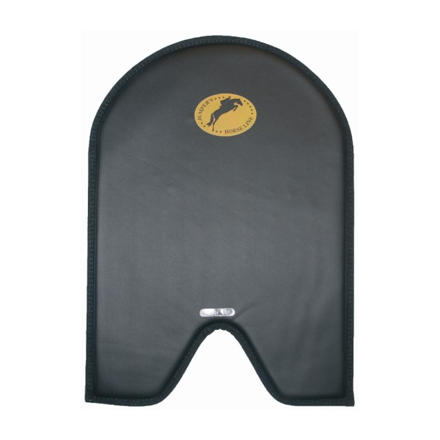 JHL Cut-Away Gel Saddlepad (Black)