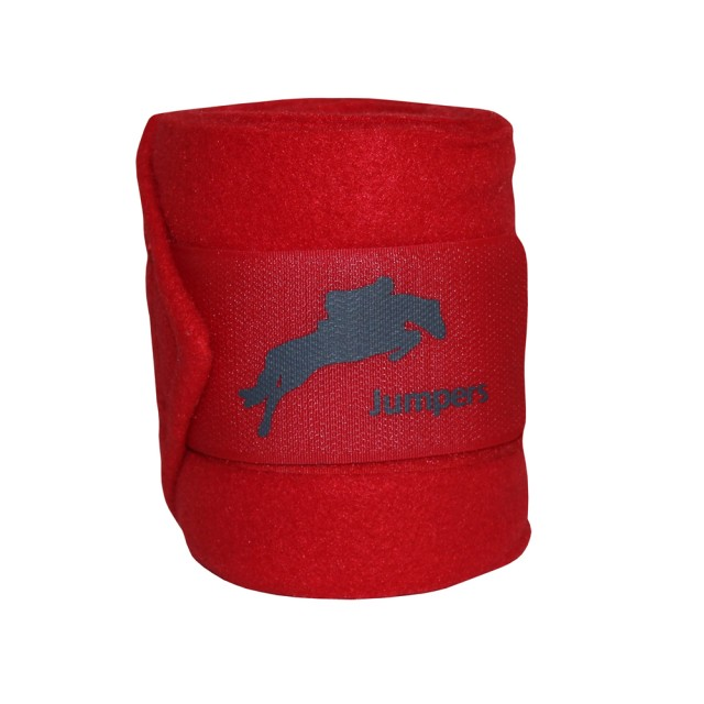 JHL Polo Bandages (Red)