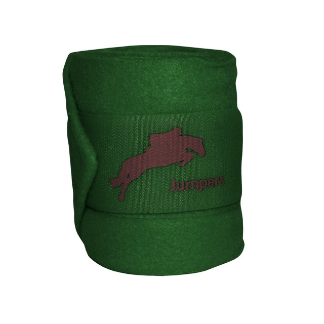 JHL Polo Bandages (Hunter Green)
