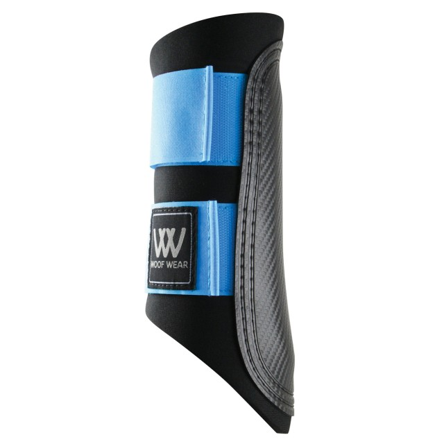 Woof Wear Club Brushing Boot Colour Fusion (Black/Powder Blue)