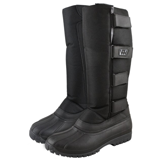 Woof Wear Adults Long Yard Boots (Black)
