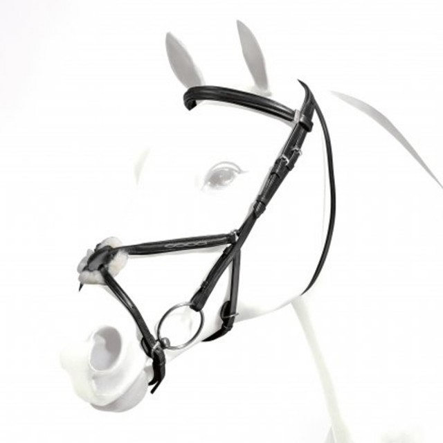 Equipe Emporio Pattern Grackle Bridle (Black)