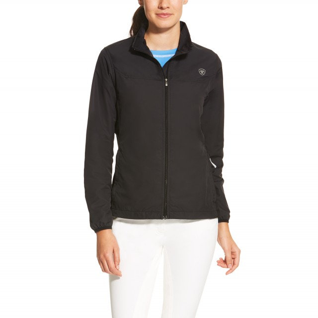 Ariat Women's Ideal Windbreaker Jacket (Black)