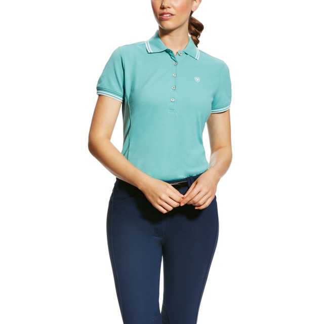 Ariat Women's Prix Polo (Cold Plunge)