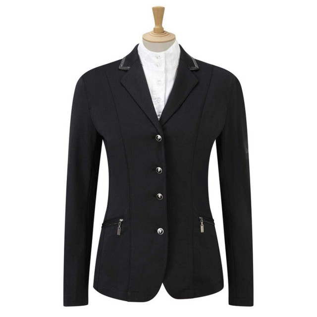 Caldene Women's Cadence Stretch Competition Jacket (Black)