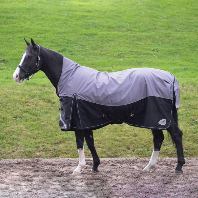 Masta Turnoutmasta 200g High Neck Turnout Rug (Black)