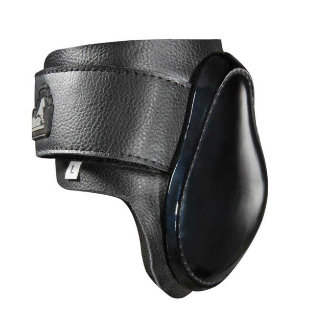 Masta Leather Look Neoprene Fetlock Boots (Black)