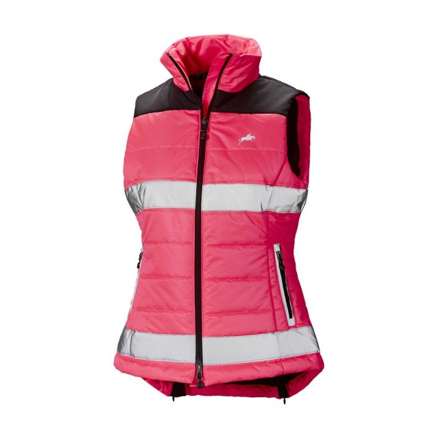 Harry Hall Women's Hi Viz Gilet (Pink)