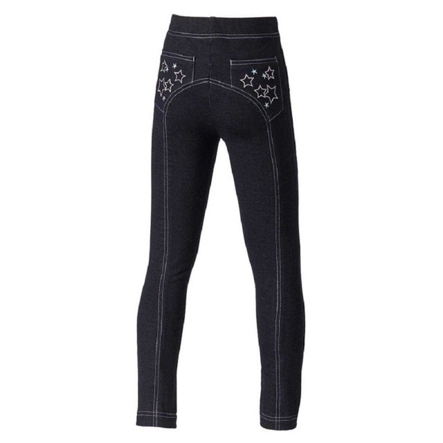 Harry Hall Junior Star Jeggings (Black)