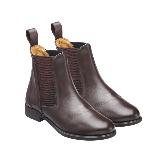Harry Hall Men's Clifton Jodhpur Boots (Brown)
