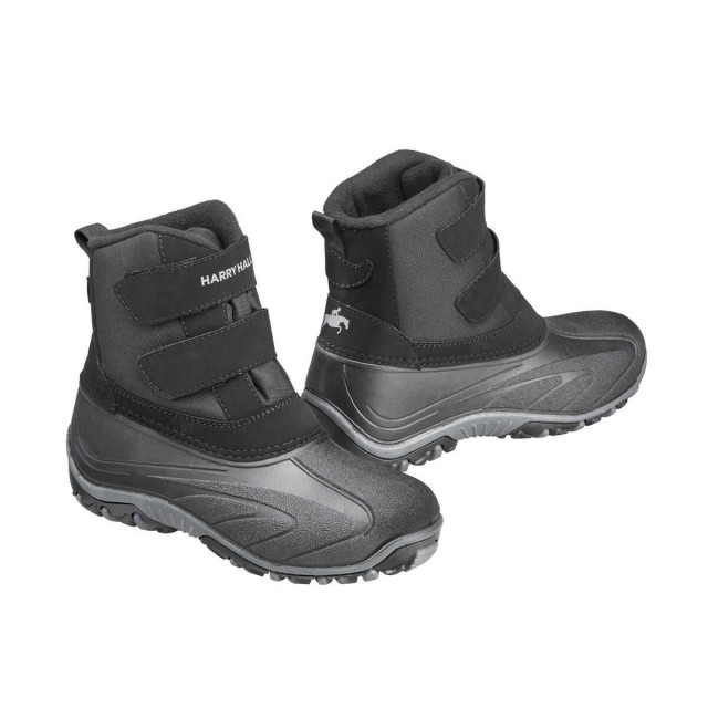 Harry Hall Junior Gunby Muck Boots (Black)