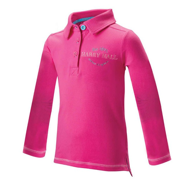 Harry Hall Junior Arley Polo Shirt (Pink)