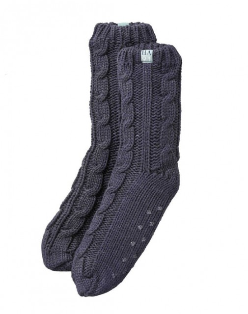 Harry Hall Lounge Socks (Navy Blue)