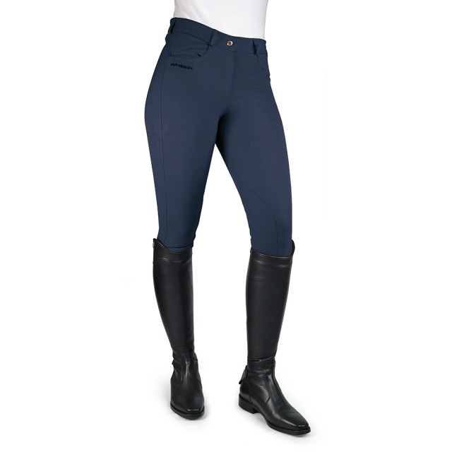 Whitaker Women's Horbury Self Seat Breeches (Navy)