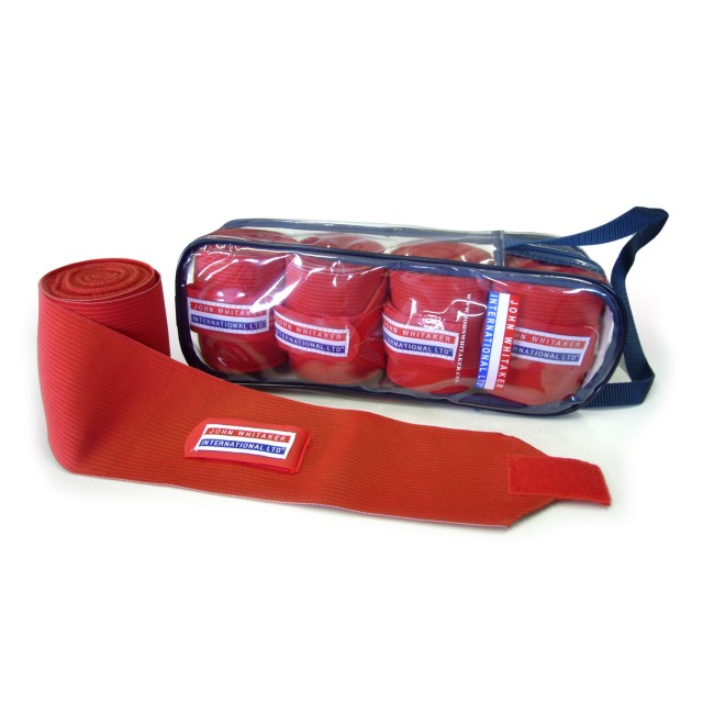 Whitaker Training Bandages (Red)