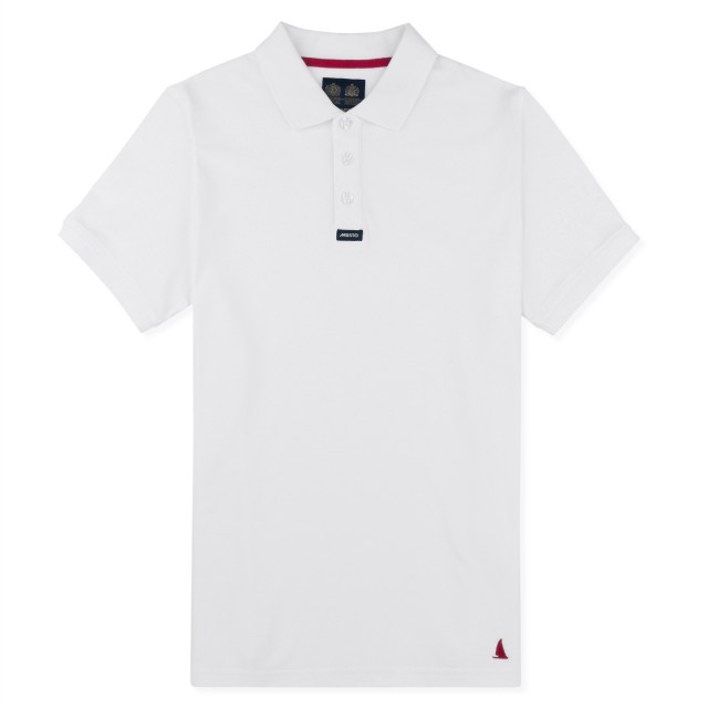 Musto Adults Pique Polo (White)