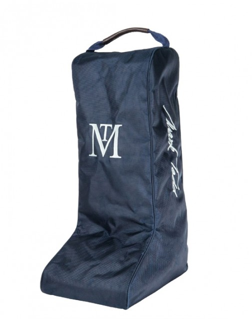 Mark Todd Pro Padded Boot Bag (Navy/Chocolate)