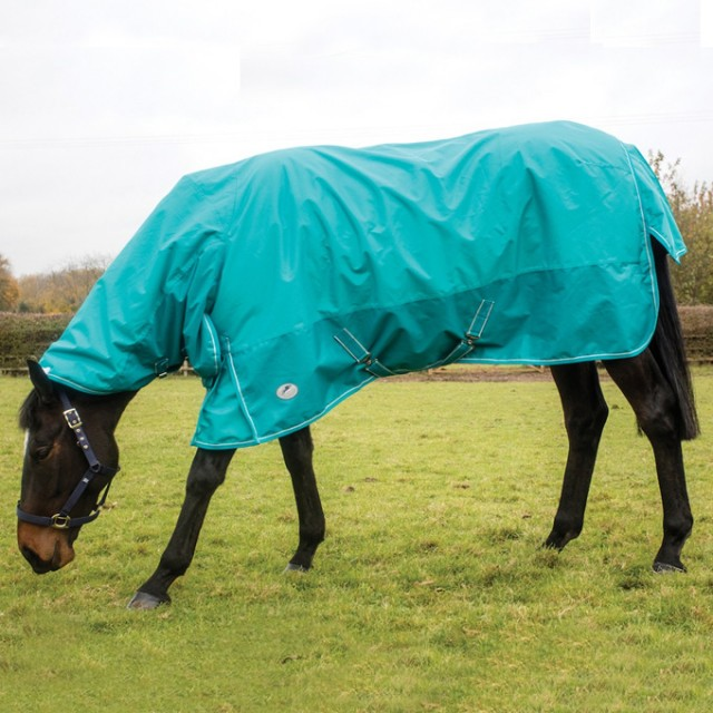 JHL Essential Lightweight Extra Turnout Combo Rug (Turquoise)