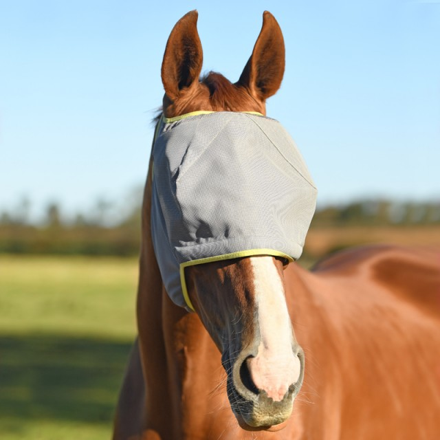 Equilibrium Field Relief Midi Fly Mask No Ears (Grey)