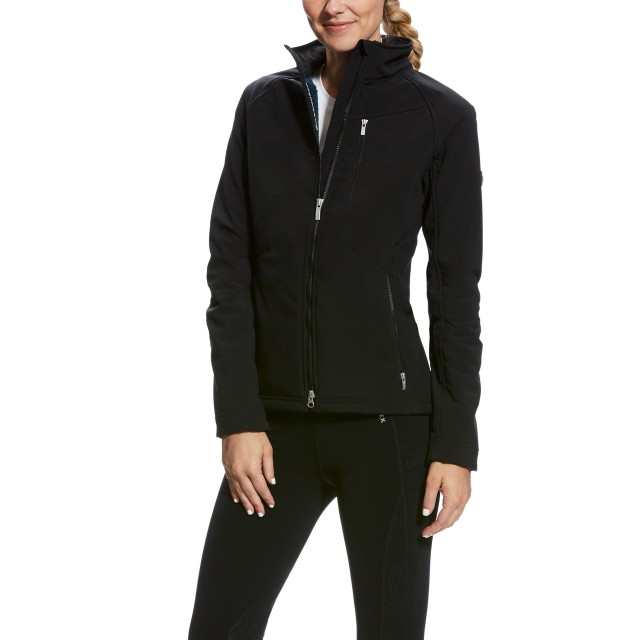 Ariat Women's Cyclone Softshell Jacket (Black)