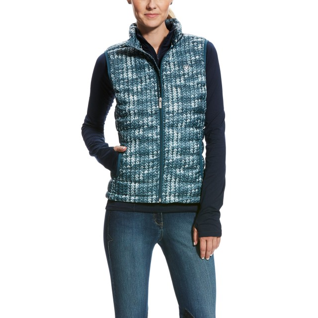 Ariat Women's Ideal Down Vest (Sweater Print)
