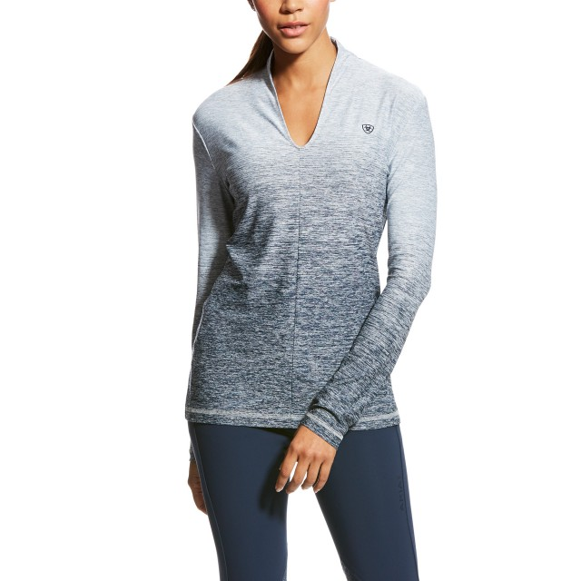 Ariat Women's Pennant Baselayer (Navy Ombre)