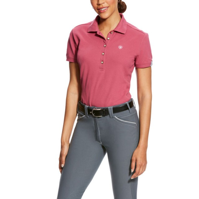 Ariat Women's Prix Polo (Rose Violet)