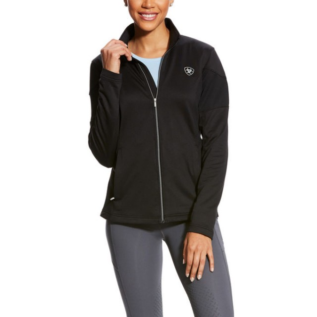 Ariat Women's Tolt Full Zip (Black)