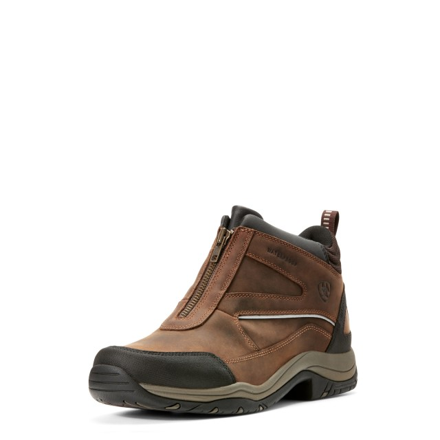 Ariat Men's Telluride Zip H20 Boots (Copper)