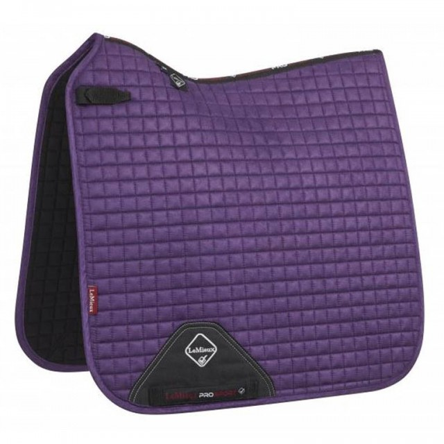 LeMieux Dressage Suede Square (Blackcurrant)