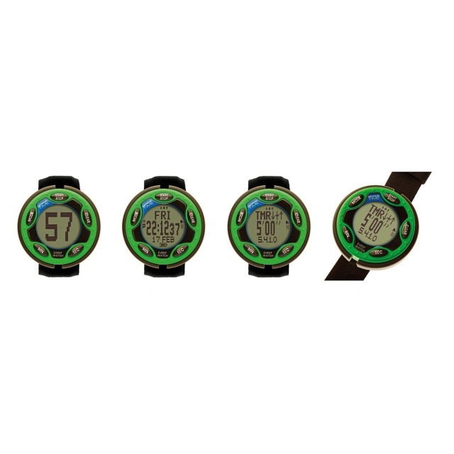 Optimum Time Rechargeable Event Watch (Green)
