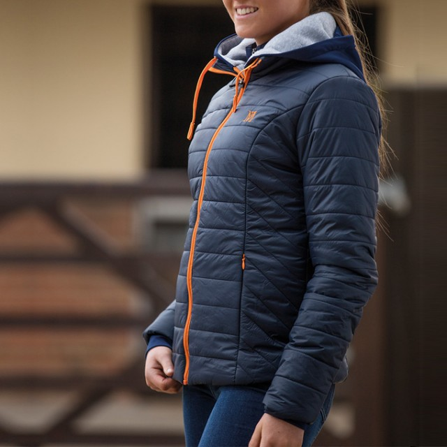 Mark Todd Ladies Quilted Rhapsody Jacket (Navy)